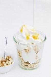 Preparato per crema di yogurt