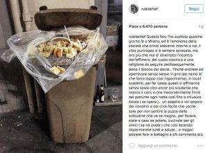 sprechi alimentari chef Rubio